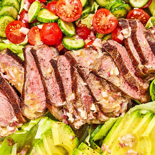 Beef Salad With a Choice of Seasoning