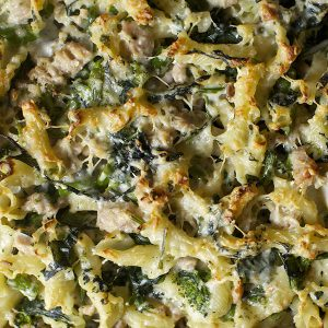 Broccoli & Wholemeal Pasta Bake