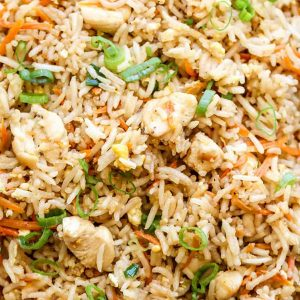 Chicken Special Egg Fried Rice