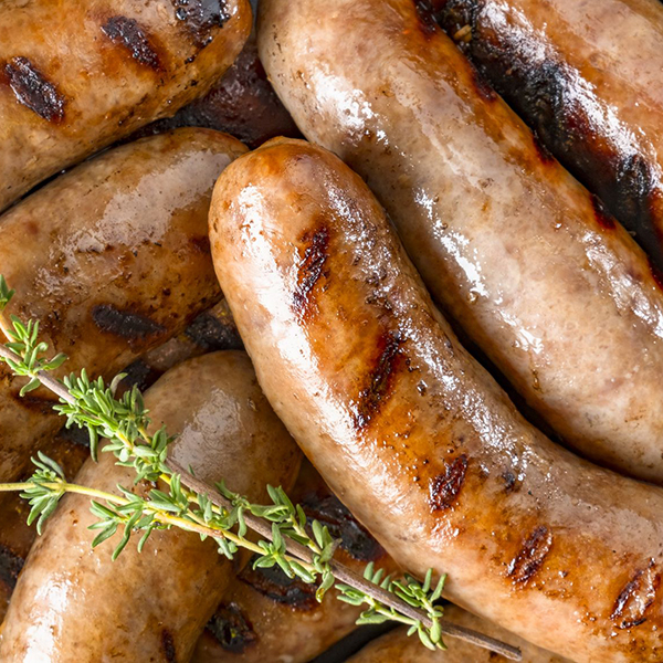 Grilled Chicken Sausages With Your Choice Of