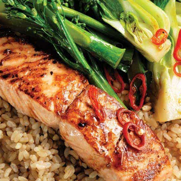 Salmon with Your Choice of