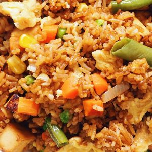 Tofu Special Egg Fried Rice